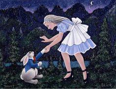 Trust by Grace Slick (Alice in Wonderland)