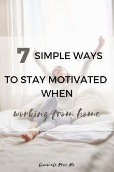 Lacking motivation when working from home? Check out these simple tips to get your motivation back on track   #motivation #productivity #success #WFH #workfromhome Lack Of Motivation, Improve Productivity, Successful Online Businesses, Work From Home Tips, Relaxing Bath, Busy At Work, Motivational Pictures, Regular Exercise, Energy Level