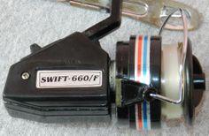 Vintage(1984) Swift-660/F Spinning Reel Still in Box/ Manual NIB FREE SHIPPING $14.50