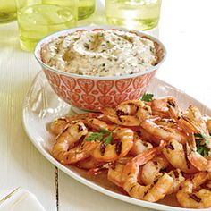 Grilled Shrimp with Remoulade Sauce - from Coastal Living magazine