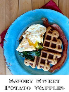Savory Sweet Potato Waffles (Grain/Nut/Dairy/Sugar Free) - Grok Grub - Paleo Recipes and Living