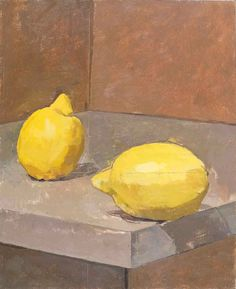 Robert Dukes' paintings are in the classic tradition of still life, portraiture and landscape painting and are beautiful to look at Still Life Fruit, Fruit Painting, Oranges And Lemons, Painting Still Life, Art Abstrait, Art Graphique, Fruit And Veg, Mellow Yellow, Painting & Drawing