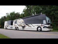 Millennium Luxury Coaches- 2005 Featherlite H3-45, S2 Stock #0569 - YouTube