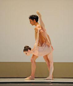 "Maria Kochetkova and Jaime Garcia Castilla in McGregor's ""Chroma""  Photo by Erik Tomasson"