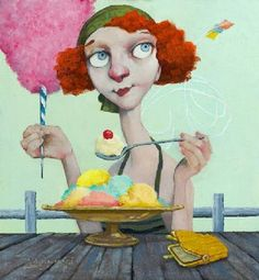 {images} old-fashioned carnival fun   by Fred Calleri