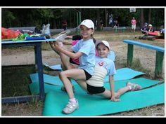 Averina twins training outdoors