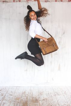 old school leather satchel from Scaramanga's collection classic leather bags Leather Bags, Leather Satchel, Old School, Back To School, Classic Leather, Stylish, Collection, Fashion, Leather Tote Handbags