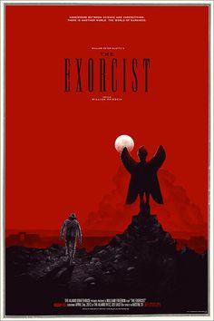THE EXORCIST poster by Phantom City Creative for Mondo.