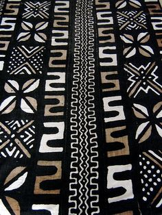 african mud cloth by jonnieeleven, via Flickr