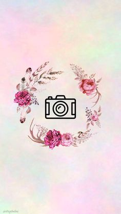 27 watercolor covers with flowers - Free Highlights covers for stories Instagram Logo, Instagram Design, Instagram Movie, Pink Instagram, Instagram Feed, Instagram Story, Wallpaper Backgrounds, Iphone Wallpaper, Screen Wallpaper