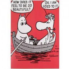 Moomin Card: Beautiful