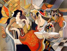Cafe Paraiso by Isaac Maimon