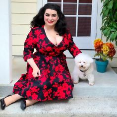 """🍒Yasmina Greco🍒 on Instagram: """"🦃Happy Thanksgiving🦃 . I am thankful for my sweet and loving hubby @garyzface ❤️ my twin sister, my fluffy adorable Luna that brings smiles…"""" Bichon Frise, Twin Sisters, Happy Thanksgiving, Twins, Bring It On, Thankful, Sweet, Instagram, Dresses"""