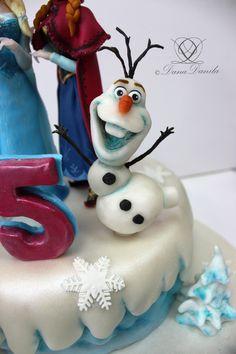 Olaf(Frozen cake)