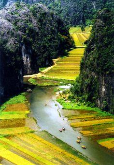 Tam Coc - Bich Dong, Vietnam