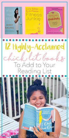 Here are some of the best chick lit books out there. If you're looking for a lighthearted and inspiring read, then check out my list of recommendations! #reaedinglist #chicklitbooks