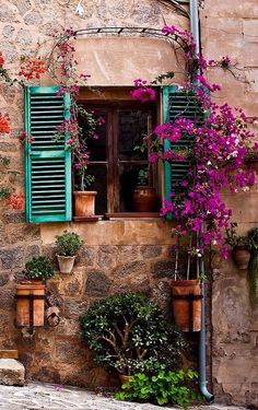 """One of the most tragic things I know about human nature is that all of us tend to put off living. We are all dreaming of some magical rose garden over the horizon instead of enjoying the roses that are blooming outside our windows today."" ~  Dale Carnegie  --   Valldemossa, Mallorca, Spain"
