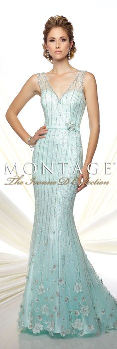 Montage The Ivonne D Collection Spring 2016 - Style No. 116D28 #eveninggowns