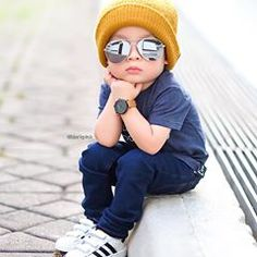 Hey Good Looking . Whatcha looking at 😎😎 Stylish Little Boys, Stylish Kids, Toddler Boy Fashion, Little Boy Fashion, Little Boy Outfits, Baby Boy Outfits, Outfits Niños, Kids Outfits, Cool Baby Boy Clothes