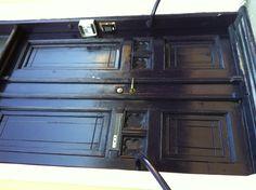 Love a black door.