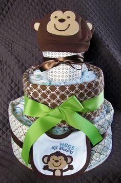 custom diaper cakes!
