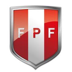 escudo/ Federacion Peruana de Futbol 2012 plata
