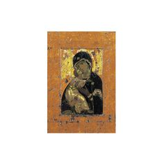 The Virgin of Vladimir, Byzantine Icon, Early 12th Century Giclee... (43 CAD) ❤ liked on Polyvore featuring home, home decor, wall art, entertainment, j, movies, movies by actress, movies by personality, giclee poster and movie posters