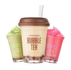 Etude House Bubble Tea Sleeping pack (100g)  #Etudehouse