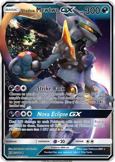 Armored Shadow Mewtwo GX Custom Pokemon Card - Geek World Carte Pokemon Mewtwo, Pokemon Sammelkarten, Fake Pokemon Cards, Pokemon Cards Legendary, Pokemon Tcg Cards, Pokemon Eeveelutions, Pokemon Trading Card, Pokemon Memes, Pokemon Fusion