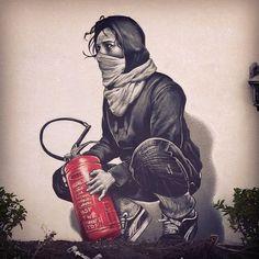 Top 15 des oeuvres de street art hyper réalistes de MTO, quand le tag prend vie