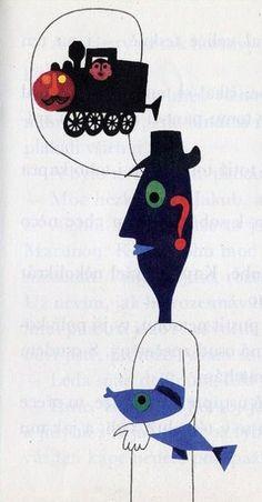 Hana Stepanova, 'Little Christmas Tale' of 1966 Christmas Tale, Little Christmas, Hana, Illustration Art, Arms, Snoopy, Fish, Fictional Characters, Vintage