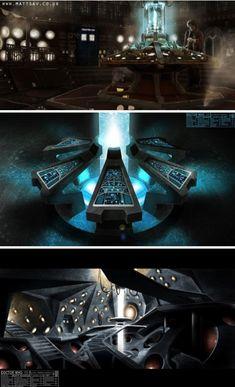 Matthew Savage's TARDIS Concept Art