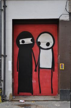 Stik in London... gotta love the body language on these simple stick figures