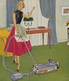 Did women really do this??? I know my grandmother didn't! No wonder so many women were jacked up on barbiturates all the time! As much as I love the idea of mid century life, I think the reality was much different.   1950s Good Housewife Guide