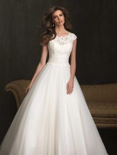I just want to get married so I can have a man and a pretty dress like this  :-)