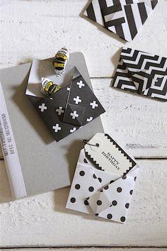 ★キャンドゥ100円折り紙で♪簡単・かわいい・便利なミニ封筒 | インテリアと暮らしのヒント