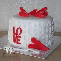 #love #cake #lovecake #heart #dort @andelskedorty