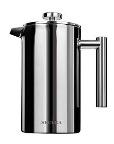 1210381bc236 Secura Stainless Steel French Press Coffee Maker 18 10 Bonus Stainless  Steel Scr  Secura