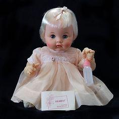 Vintage Madame Alexander 12 inch Dearest Baby  Doll