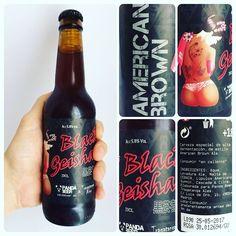 #cataBeerWars 5: Black Geisha de Panda Craft Beer. Sabor tostado con buen nivel de amargor y punto dulce final. soloartesanas BeerWars
