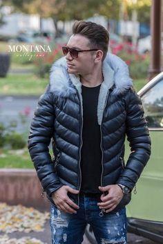 geaca barbati Bleumarin Modern Mens Fashion, Men's Fashion, Mens Trends, Modern Man, Creative Inspiration, Personal Style, Winter Jackets, Design, Moda Masculina