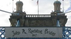 roebling suspension bridge ohio river