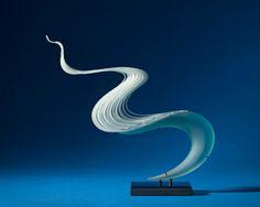 K. WILLIAM LEQUIER | Glass Sculpture by K. William LeQuier at Schantz Galleries