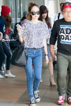 SNSD Jessica airport fashion - September 7
