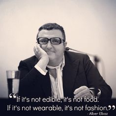 Alber Elbaz of Lanvin sharing his fashion wisdom at Paris Fashion Week AW15 https://instagram.com/p/z-Thf_MBP-/