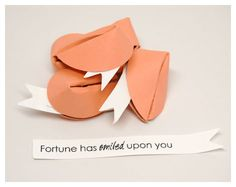 Fortune smiles upon you. cookie - Google Search