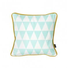 Ferm Living Little Geometry Cushion - Light Blue