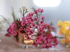 DIY Floral Votives   LEAF