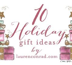 Tuesday Ten: Holiday Wish List