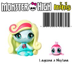 Monster High Mini Lagoona & Pet